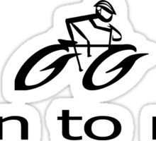 Born to Ride - Biking T-Shirt Bike Riding Gear Sticker