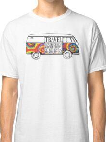 TIE DYE ADVENTURE BUS Classic T-Shirt