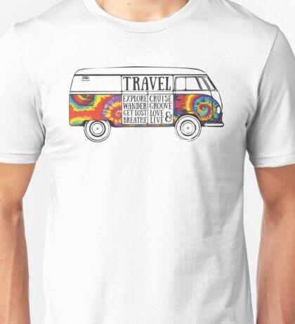 Tie Dye Bus Unisex T-Shirt