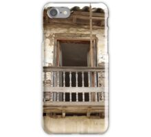 Weathered Wooden Balcony iPhone Case/Skin