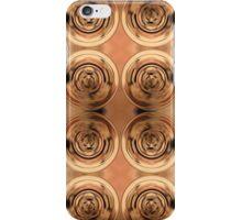 Shimmering Metallic Copper Pools iPhone Case/Skin
