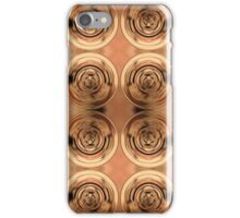 Shimmering Metallic Copper Pools iPhone Case/Skin