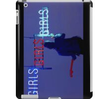 Girls, girls, girls  iPad Case/Skin