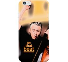 hit that beat iPhone Case/Skin