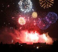 Edinburgh Festival Fireworks - 2 Sticker