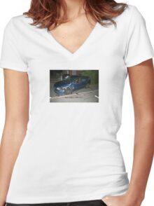 paul Women's Fitted V-Neck T-Shirt