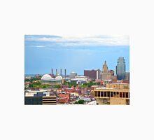 Downtown Kansas City, Missouri Men's Baseball ¾ T-Shirt