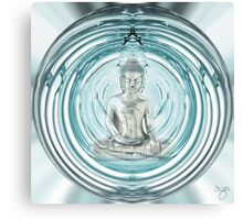 Serenity Mediation Bubble Canvas Print