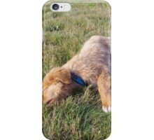 Tired Toller iPhone Case/Skin