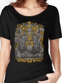 Iberian Hecate Gray Women's Relaxed Fit T-Shirt