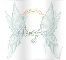 ANGEL TEXT Poster