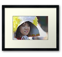 Traditional Korean Band Member Framed Print