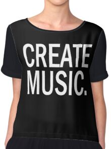 Austin Carlile Create Music Chiffon Top