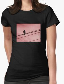 Magpie Red Sky Womens Fitted T-Shirt