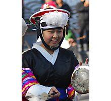 Traditional Korean Band Member 2 Photographic Print