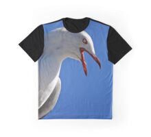 Seagull in Wollongong (4) Graphic T-Shirt