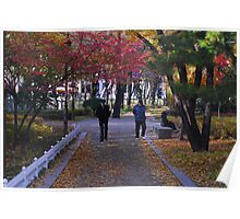 A Walk in the Park in Seoul Poster