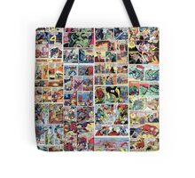 Comics vintage marvel and dc comics Tote Bag