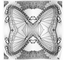 An Intramagnautical London Butterfly Poster