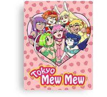 Tokyo Mew Mew Canvas Print