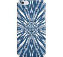 Blue Briar Flower Tile Pattern iPhone Case/Skin