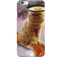 bacon egg cat iPhone Case/Skin