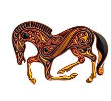 Celtic Pony Photographic Print