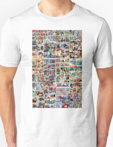 Comics vintage marvel and dc comics T-Shirt