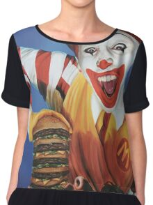 Happy Meal Chiffon Top