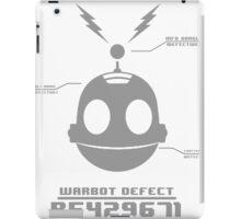CLANK (ROBOT DEFECT B5429671) iPad Case/Skin