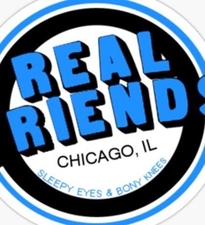 Real Friends Chicago Sticker