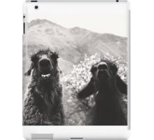 Best Llama Friends iPad Case/Skin