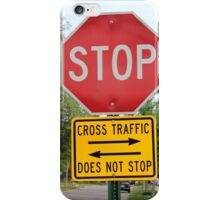 Stop Sign iPhone Case/Skin