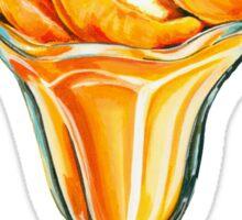 Peach Sundae Sticker