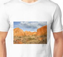 Rainbow Vista Lit by a Partial Solar Eclipse Unisex T-Shirt