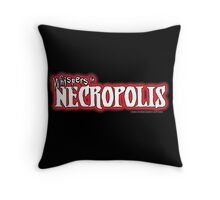 Whispers in Necropolis Throw Pillow