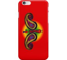 Tribal Paisley Peacock iPhone Case/Skin