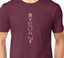 Vegan Vertical Design Unisex T-Shirt