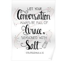 Seasoned With Salt Poster