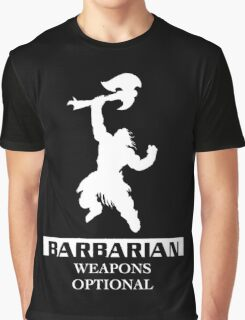 Barbarian Inverted Graphic T-Shirt