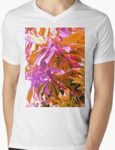 Floss Tree Mens V-Neck T-Shirt