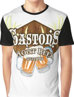 Gaston's Root Beer Graphic T-Shirt