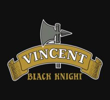 Vincent Black Knight Kids Tee
