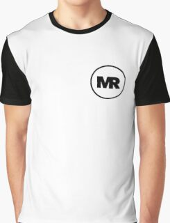 Madratter Official Logo - Black and White Graphic T-Shirt