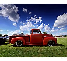 1954 Chevy 3100 Pickup Photographic Print
