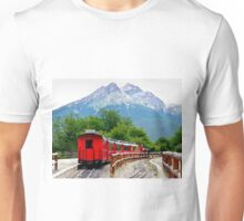 The End of the World Train Unisex T-Shirt