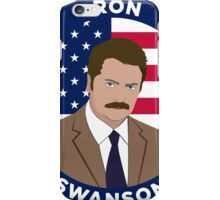 Ron Swanson - Parks and Rec iPhone Case/Skin