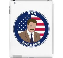 Ron Swanson - Parks and Rec iPad Case/Skin