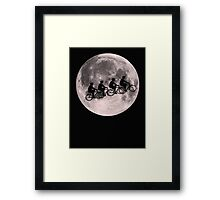 bicycle fly Framed Print