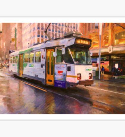 Rainy Day Melbourne Sticker